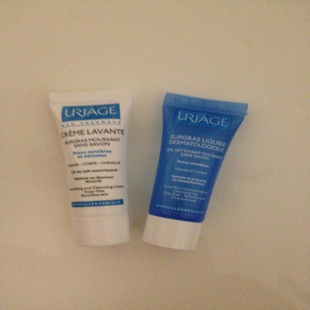 Uriage Wash Gel Liquid Over Fat & Uriage Crème Lavante