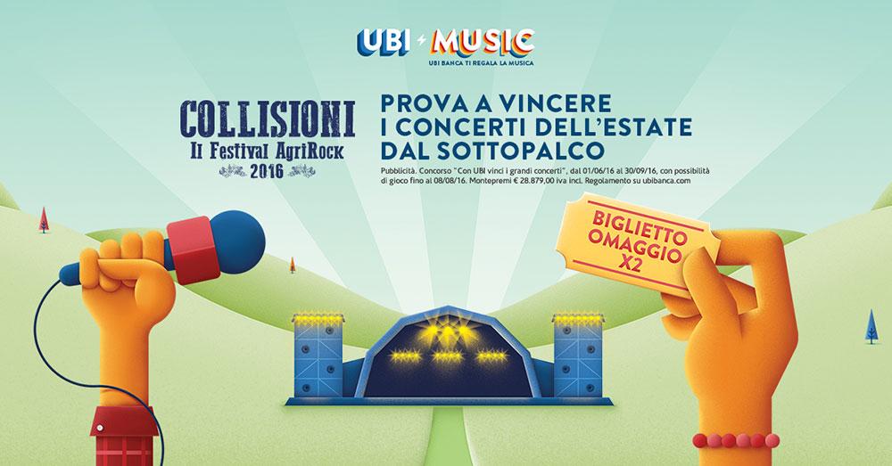 Collisioni UBI MUSIC