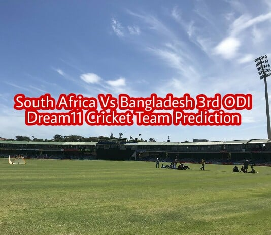 South Africa vs Bangladesh 3rd ODI Dream11 Team Prediction : Preview