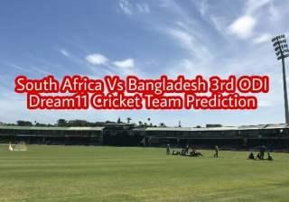 South Africa vs Bangladesh 3rd ODI Dream11 Team Prediction