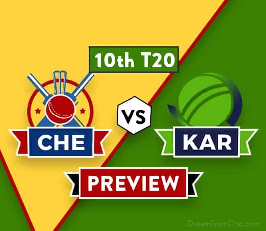 CHE vs KAR Dream11 Team Prediction and Probable XI: Preview