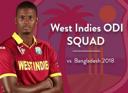 West Indies ODI Squad vs Bangladesh 2018 | WI vs BAN Live Streaming