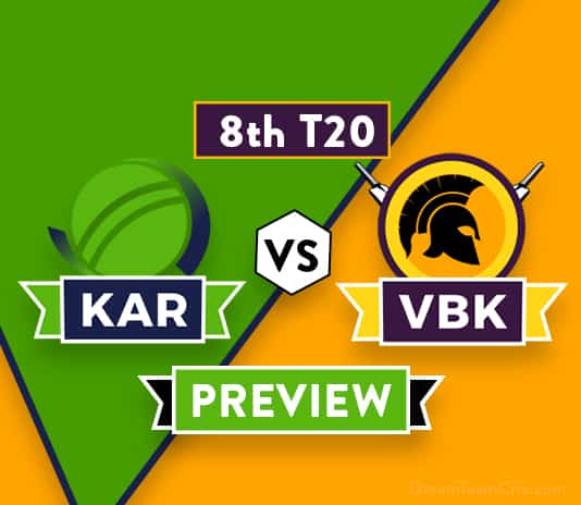 KAR vs VBK Dream11 Team Prediction and Probable XI: Preview