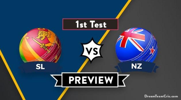 SL vs NZ Dream11