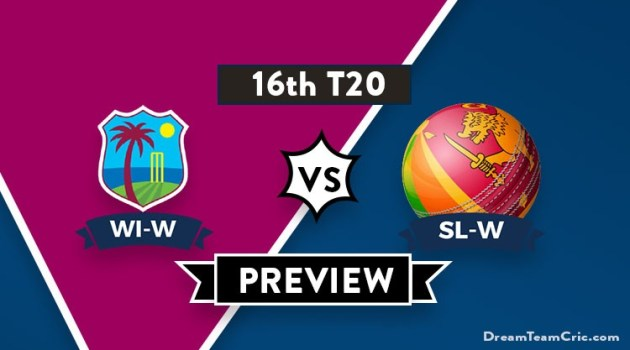 WI-W vs SL-W Dream11 Team Prediction of ICC Womens World T20 2018: Preview