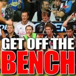 Get Off The Bench: Round 9