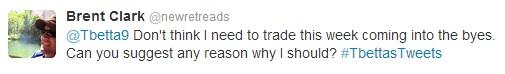 Tweets non-trade