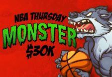 Play in the $30K NBA Thursday Monster