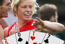 Isaac Heeney – Deck of DT 2017