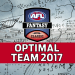 The 2017 Optimal AFL Fantasy Team finally proves link between Genius and Madness