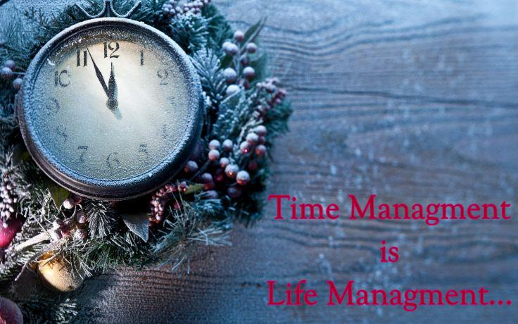 time managment is life managment quotes wallpapers
