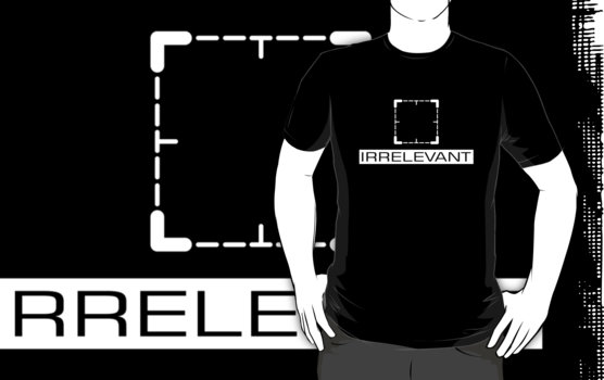 Person of Interest - Irrelevant T-Shirt