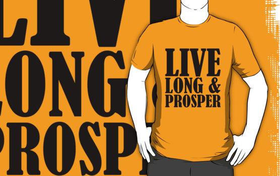 Live Long & Prosper Nimoy T-Shirt