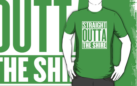 Straight Outta The Shire T-Shirt