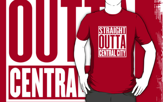 Straight Outta Central City T-Shirt