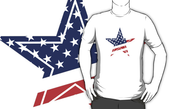 Unated States Star T-Shirt