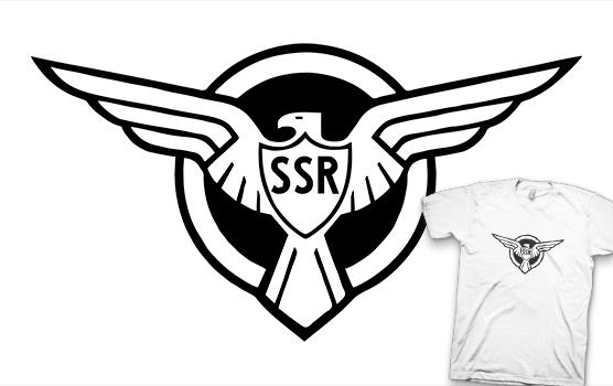 Captain America T-shirt - Strategic Scientific Reserve