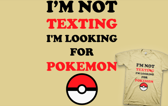 Looking For Pokemon T-shirt