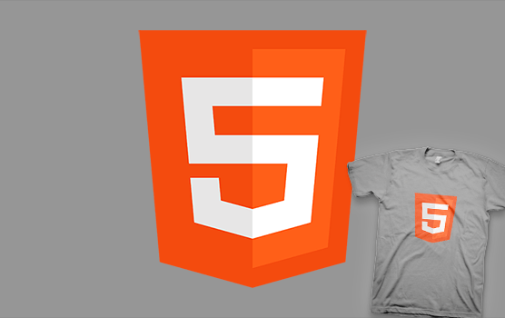 Silicon Valley T-shirt - HTML 5