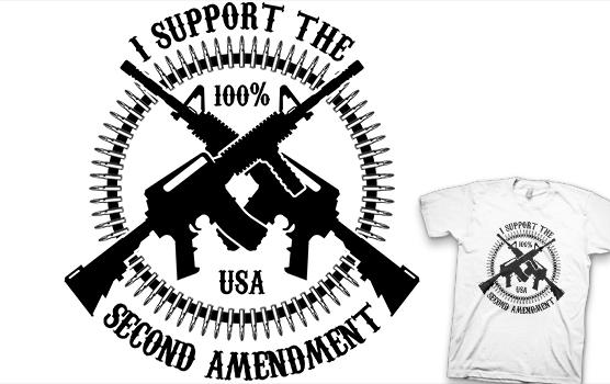 I Support The Second Amendment T-shirt