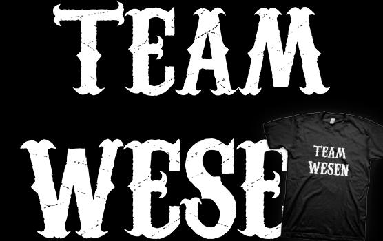 Team Wesen T-shirt