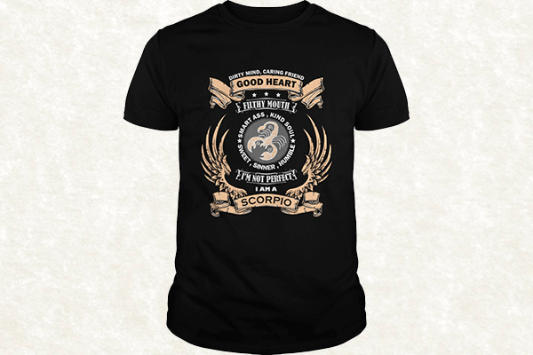Zodiac Sign - Scorpio T-shirt