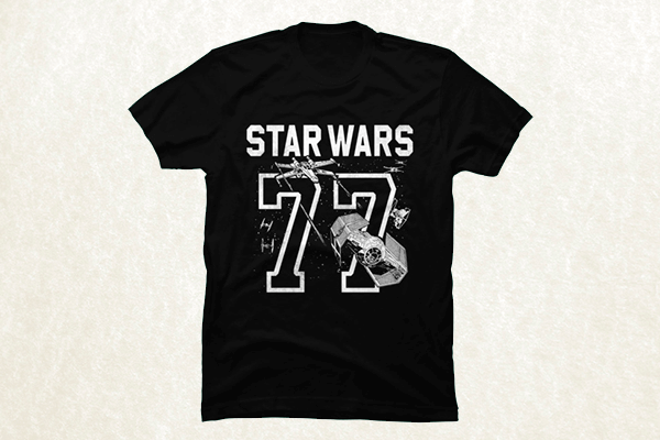 Star Wars 77 Athletic Print T-shirt