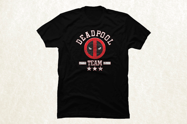 Deadpool Team T-shirt