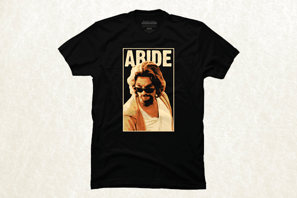 Abide - The Big Lebowski T-shirt