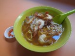 Breakfast: Prawn Mee from Blanco Court