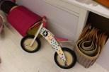 Sepeda pink polkadot