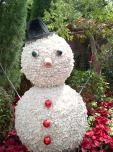 Cute snowman @ Gardens by the Bay