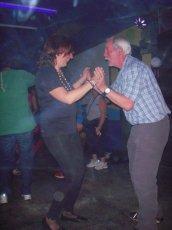 Swakopmund: Sylvia and Alan on the Dancefloor