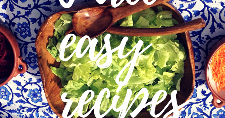 Do you feel too busy to eat healthy and wish you had easy healthy recipes?