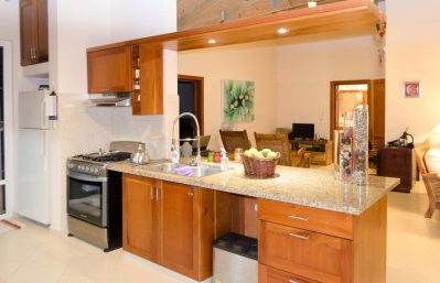 Home 1 - Kitchen & TV area