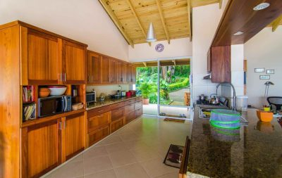 Home 1 kitchen & entrance