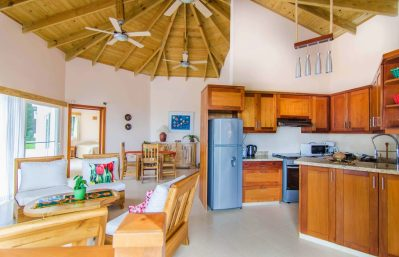 Home 2 octagon overview living - kitchen - dining
