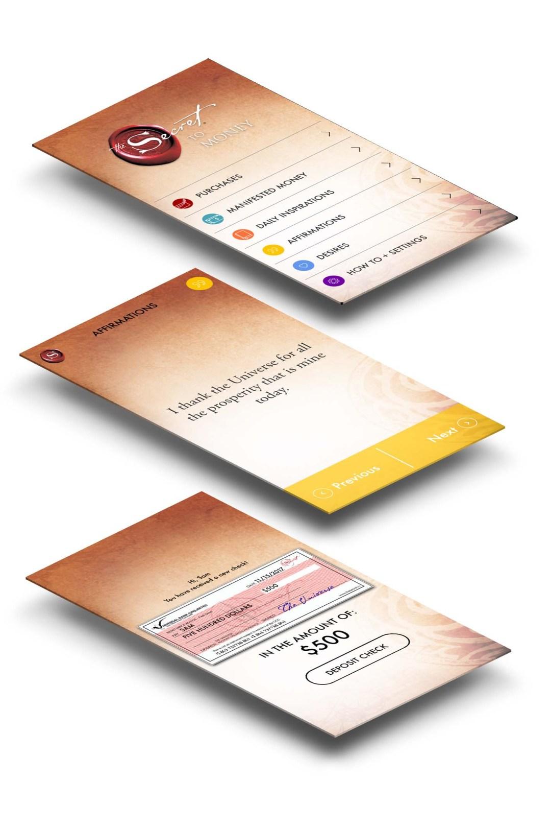The Secret app developed by DreamWalk App Development