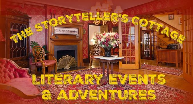 Storytellers Cottage, Jules Verne Steampunk Library