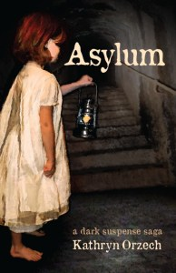 Asylum, book front cover #suspense #thriller #historical