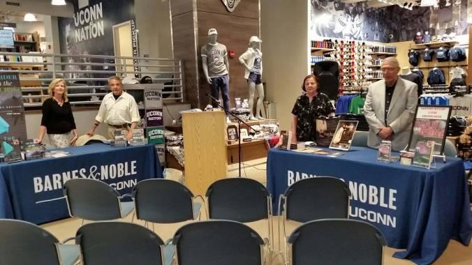 Barnes & Noble UConn Hartford hosts Four Mystery Authors