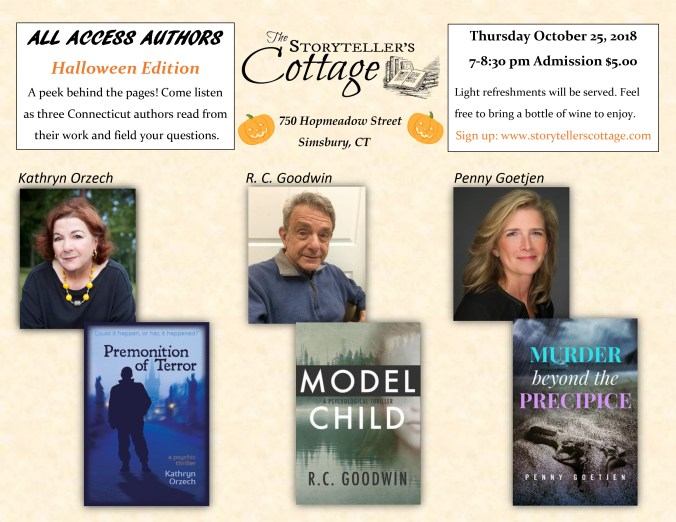 ALL ACCESS AUTHORS: Halloween Edition Oct-25