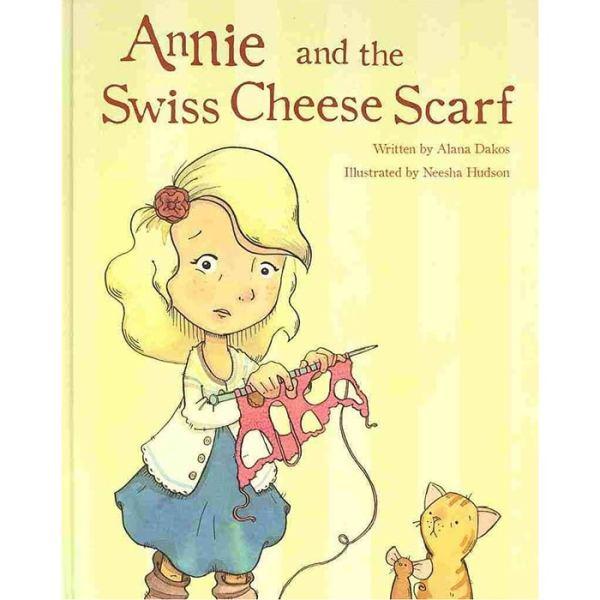 Annie and the Swiss Cheese Scarf, Dream Weaver Yarns LLC