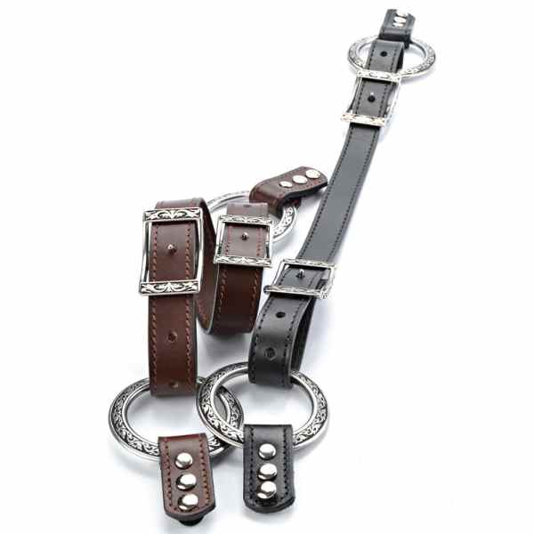 JUL Budapest Leather Handle with Tabs, Dream Weaver Yarns LLC