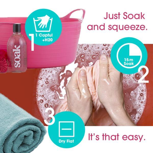 Soak Eco Wash Bag and Soak Wash Set, Dream Weaver Yarns LLC