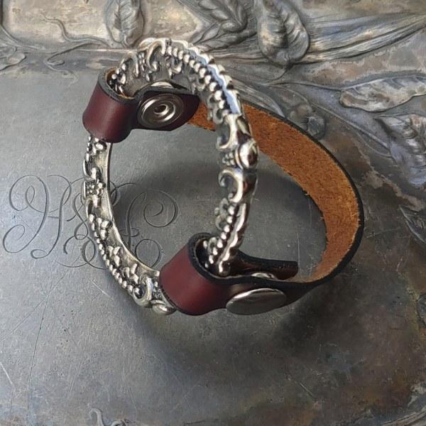 JUL Crown Chakra Cuff and Shawl Pin, Dream Weaver Yarns LLC