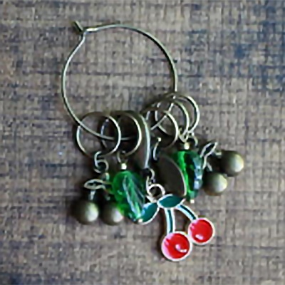 Summer Fruits Stitch Markers, Dream Weaver Yarns LLC
