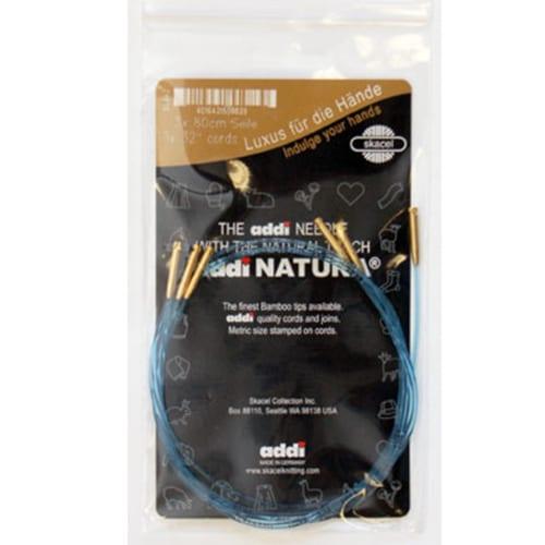 addiClick Bamboo and Olive Wood Click Cords – 24″ (3 pack), Dream Weaver Yarns LLC