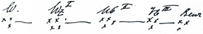 Схема систем записи у Фрейда