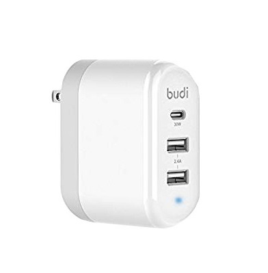 Budi Home Charger With 3 USB Port - 315ULM